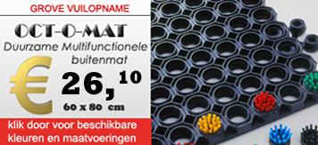 Droogloopmatten, Oct-o-mat, Mattenshop.nl