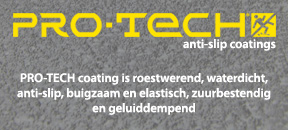 Pro-Tech polyurethaan vloeibaar anti-slip coating